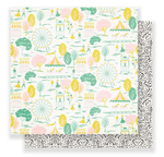 Fairgrounds Paper - Carousel - Maggie Holmes - PRE ORDER