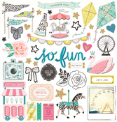Carousel Chipboard Stickers - Maggie Holmes