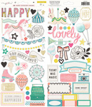 Carousel Gold Foil Stickers - Maggie Holmes
