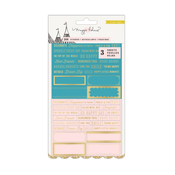 Clear Gold Foil Carousel Stickers - Maggie Holmes
