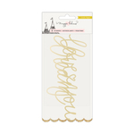 Gold Foil Puffy Words - Carousel - Maggie Holmes