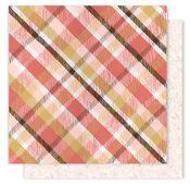 Cozy Plaid Paper - Creekside - One Canoe Two