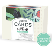 Creekside Stationery Boxed Card Set - One Canoe Two