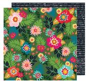 Floral Sensations Paper - Hustle & Heart - Amy Tangerine