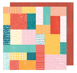 Patchwork Show Paper - Hustle & Heart - Amy Tangerine