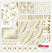Hustle & Heart Gold Foil Paper - Amy Tangerine