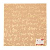 Falala Glitter Kraft Paper - Crate Paper