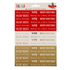 Falala Phrase Gold Foil Stickers - Crate Paper