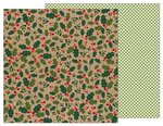 Holly Berries Paper - Merry Merry - Pebbles