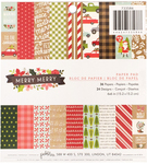 Merry Merry 6 x 6 Paper Pad - Pebbles