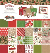 Merry Merry 12 x 12 Project Pad - Pebbles