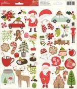 Merry Merry Stickers - Pebbles
