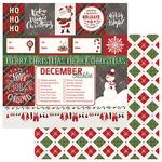 Ho Ho Ho Paper - Mad 4 Plaid Christmas - Photoplay