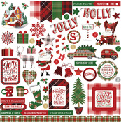 Mad 4 Plaid Christmas Element Stickers - Photoplay