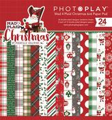 Mad 4 Plaid Christmas 6 x 6 Paper Pad - Photoplay