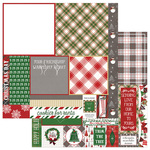 A La Card Square 12x12 Sheet - Mad 4 Plaid Christmas - Photoplay