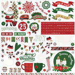 A La Card 12x12 Sticker Sheet - Mad 4 Plaid Christmas - Photoplay