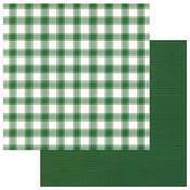 Green & White Solids + Buffalo Check - Mad 4 Plaid Christmas - Photoplay