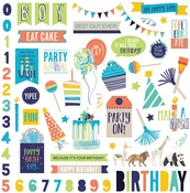 Party Animal Sticker Sheet - Cake - Photoplay