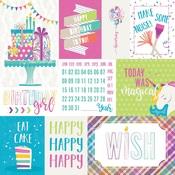 Make A Wish Paper - Rainbow Sprinkles - Cake - Photoplay