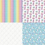 Celebrate Quad Paper - Rainbow Sprinkles - Cake - Photoplay