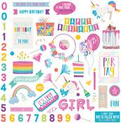 Rainbow Sprinkles Sticker Sheet - Cake - Photoplay