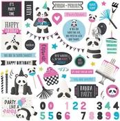 Panda Party Sticker Sheet - Cake - Photoplay