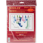 """12""""X8.25"""" 14 Count - My Family Counted Cross Stitch Kit"""
