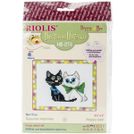 "6.5""X5.25"" 10 Count - Happy Pair Counted Cross Stitch Kit"
