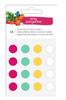 Wool Pom Pom Stickers - Hustle & Heart - Amy Tangerine