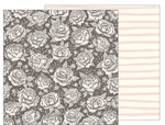 Pretty Peony Paper - Heart Of Home - Pebbles