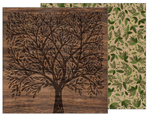 Forest Botanical Paper - Heart Of Home - Pebbles
