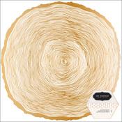 Gold Foil Die Cut Paper - Heart Of Home - Pebbles