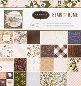 Heart Of Home 12 x 12 Paper Pad - Pebbles
