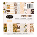 Heart Of Home 6 x 6 Paper Pad - Pebbles