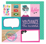 Make Magic Paper - Glitter Girl - Shimelle