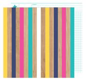 Fall In Line Paper - Glitter Girl - Shimelle