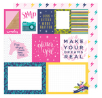 Mix And Match Paper - Glitter Girl - Shimelle