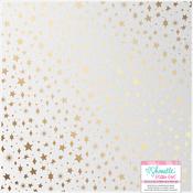 Pearlescent Gold Foil Paper - Glitter Girl - Shimelle