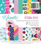 Glitter Girl 6 x 6 Paper Pad - Shimelle