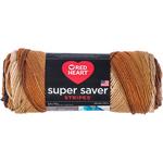 Latte Stripe - Red Heart Super Saver Yarn