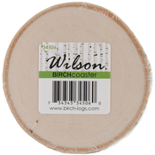Natural White Birch Coaster