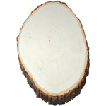 """11"""" To 14"""" - Basswood Plaque Extra Large"""