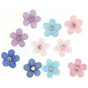 Sparkle Flowers - Dress It Up Embellishments