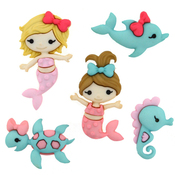 Mermaid Kisses - Dress It Up Embellishments