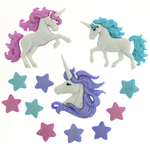 Magical Unicorns - Dress It Up Embellishments