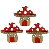 Mushroom Houses - Dress It Up Embellishments