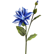 Blue/White - Dynasty Clematis + Bud 27""