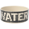 Water - PetRageous Designs Bowl - Holds 3.5 Cups Petrageous Designs-Vintage Stoneware Pet Bowl: Water, 3.5 Cups. Hand-crafted stoneware is dishwasher and microwave safe. Bowl is 6 inches in diameter and 2 inches deep. Imported.