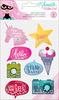 Glitter Girl Shaker Sticker - Shimelle